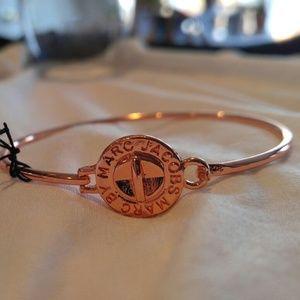 Marco Jacobs rose gold bangle bracelet